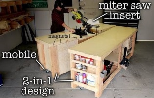 Mobile and Modular Workbench